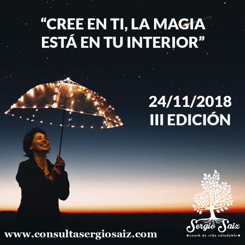 Seminario Cree en ti, La magia está en tu interior