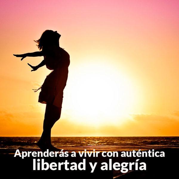 Vivir con libertad y alegría
