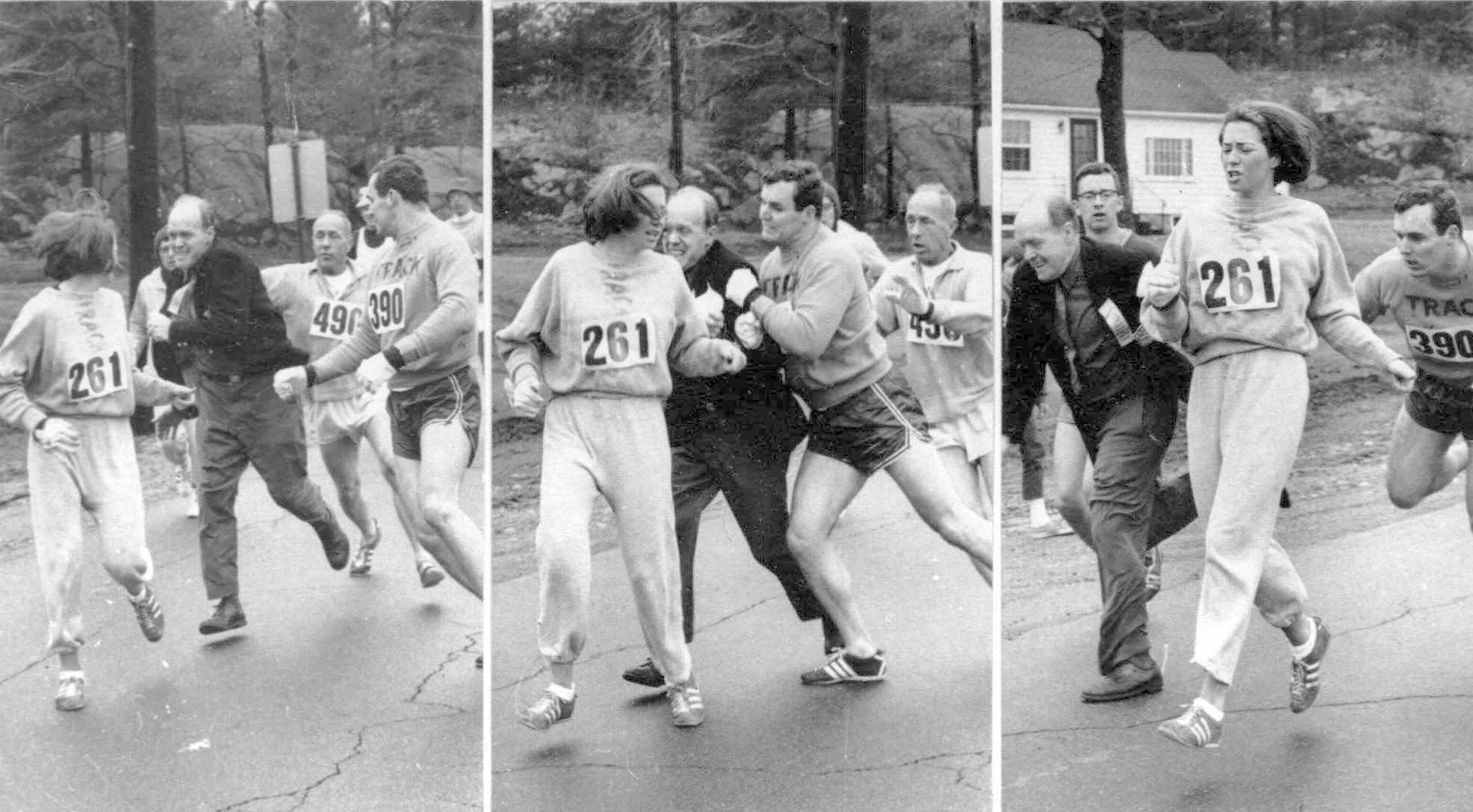 Kathrine Switzer, la primera mujer que corrió el Maratón de Boston en 1967