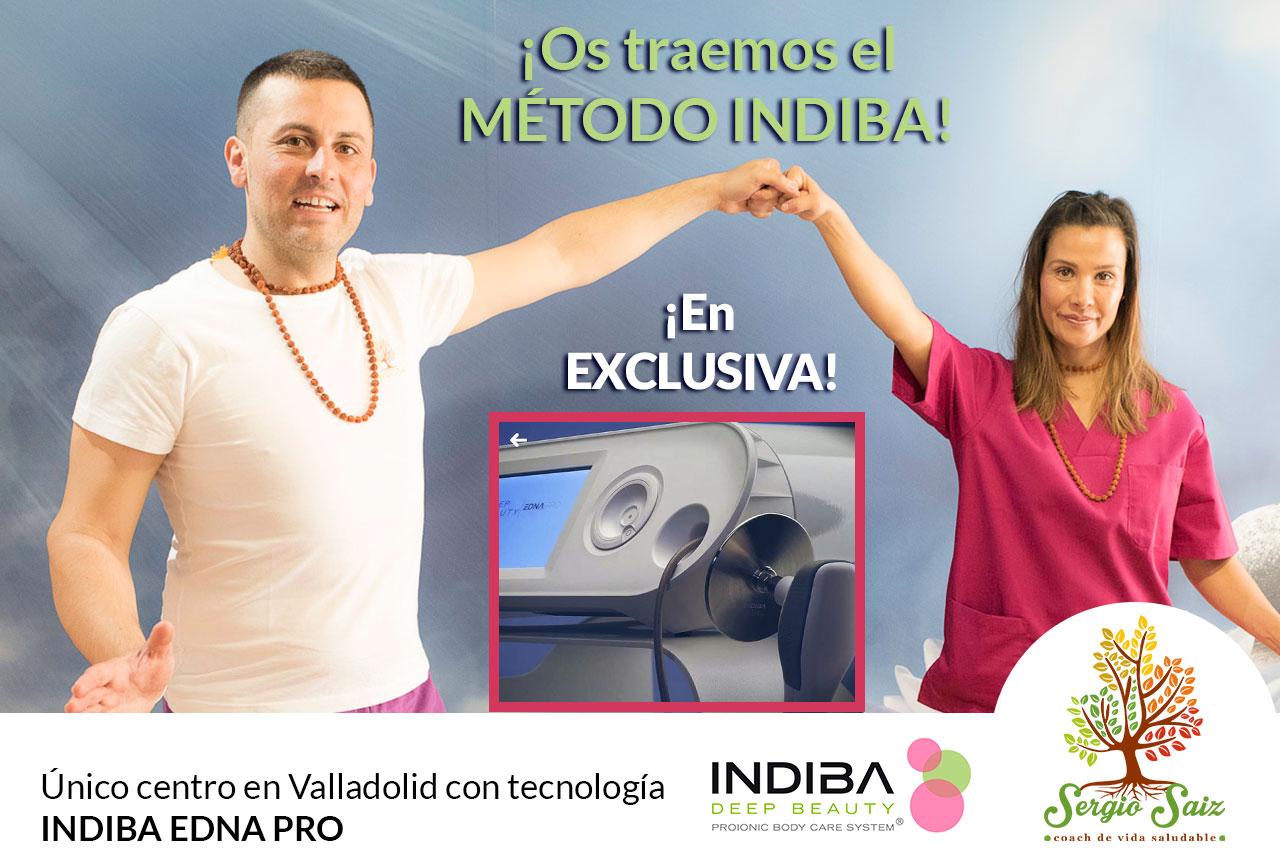 Indiba Edan Pro exclusiva en Valladolid en Consulta Sergio Saiz
